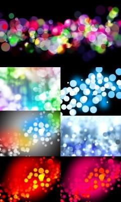 Blur Bubbles Backgrounds