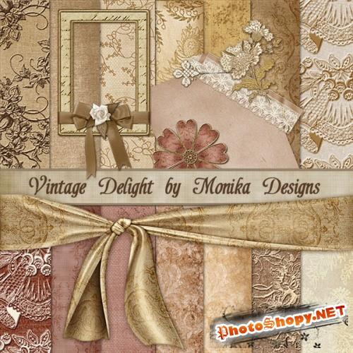 Скрап-набор – Vintage Delight