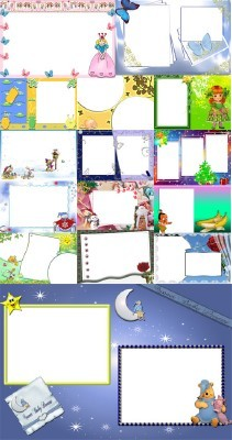 Collection of Spring Photo frames pack 13