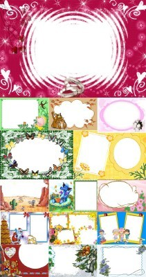 Collection of Spring Photo frames pack 21
