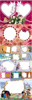Collection of Spring Photo frames pack 23
