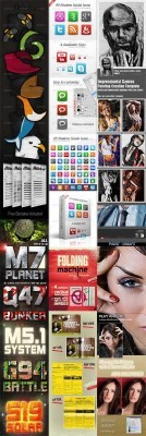 GraphicRiver Collection for Photoshop pack #7
