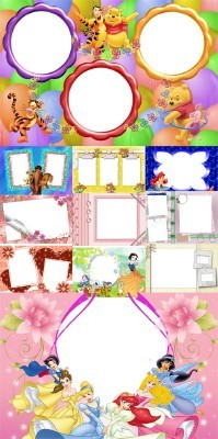 Collection of Spring Photo frames pack 34