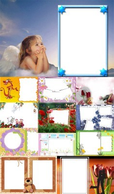 Collection of Spring Photo frames pack 37