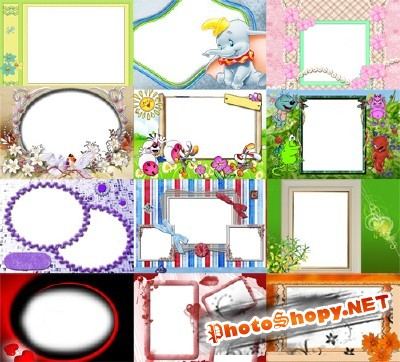 Collection of Spring Photo frames pack 42