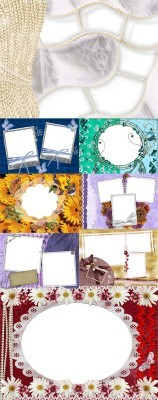 Collection of Spring Photo frames pack 49