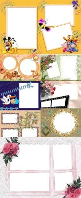 Collection of Spring Photo frames pack 48