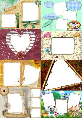 Collection of Spring Photo frames pack 51