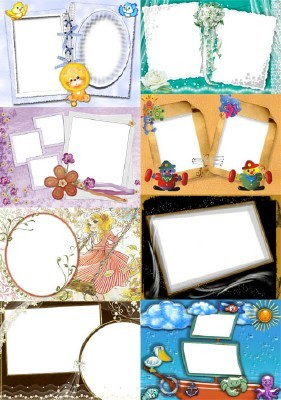 Collection of Spring Photo frames pack 53