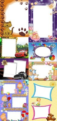 Collection of Spring Photo frames pack 56
