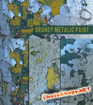 Grungy Metalic Paint Textures