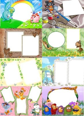 Collection of Spring Photo frames pack 59