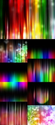 Colored Curtain Backgrounds