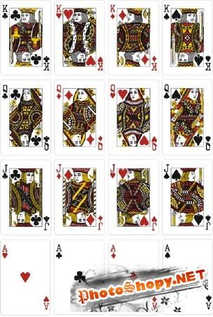 Игральные карты psd
