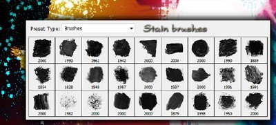 Stain Brushes Set