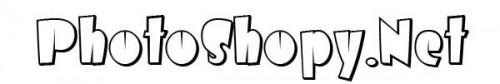 Шрифты для Фотошоп - AirmoleShaded