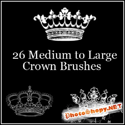 Crown Brushes Set