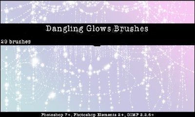 Dangling Glows Brushes Set