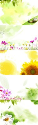 Sources - Floral Backgrounds