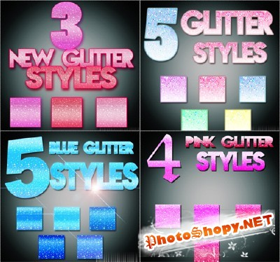 Text Styles Pack 2 for Photoshop