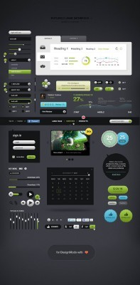 User interface Psd