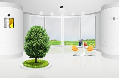 Sources - Elegant office tree
