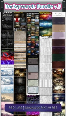 Backgrounds Bundle Vol. 3
