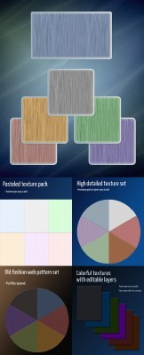Colorful web Texture Pack
