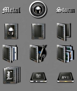 ������ ��� �������� ����� Metal Storm (iconpackager)
