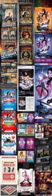Club Flyers/Posters - Mix Bundle 2012 vol.2