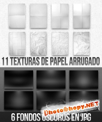 Black and white Texture Papers Backgrounds