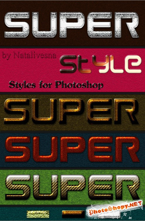 ����� ��� Photoshop � Super style