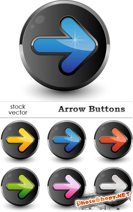 Vectors - Arrow Buttons