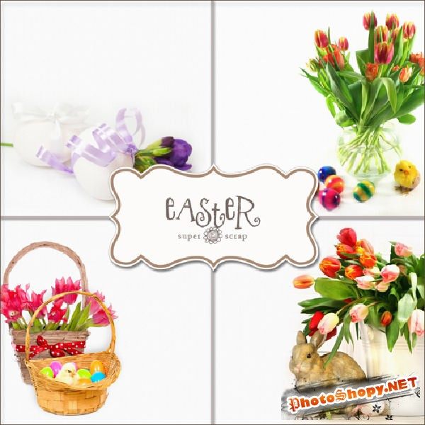 Textures - Easter Backgrounds #2