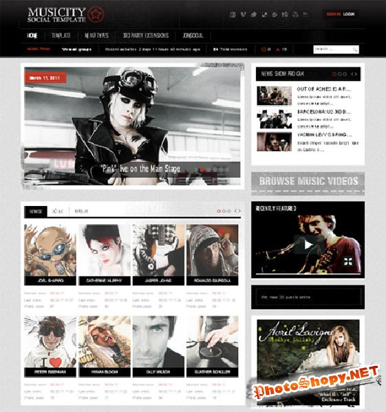 GK Musicity v1.0.1 � February 2011 Joomla 1.5 Template (update 17/03/2011)