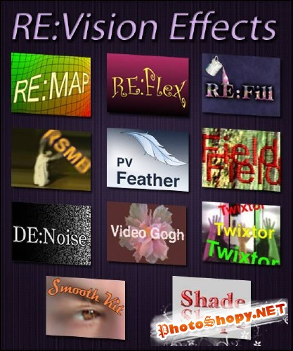 ����� �������� ��� �������� RE-Vision Effects