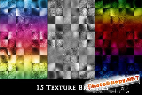 15 Texture Brushes