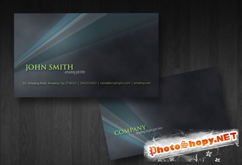 PSD Template - Business Card v1