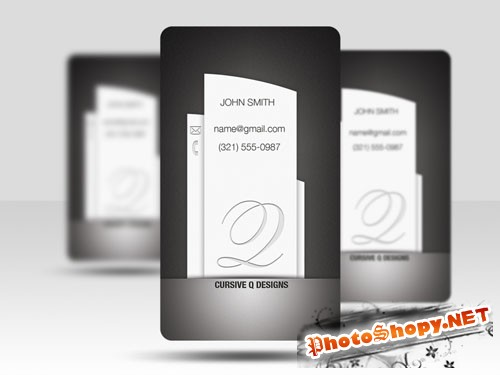 PSD Template - Business Card v5