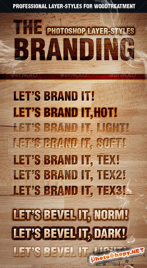 GraphicRiver - The Branding Text Styles & Layer Styles 2126696