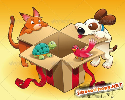 GraphicRiver - Gift and Pets 152547
