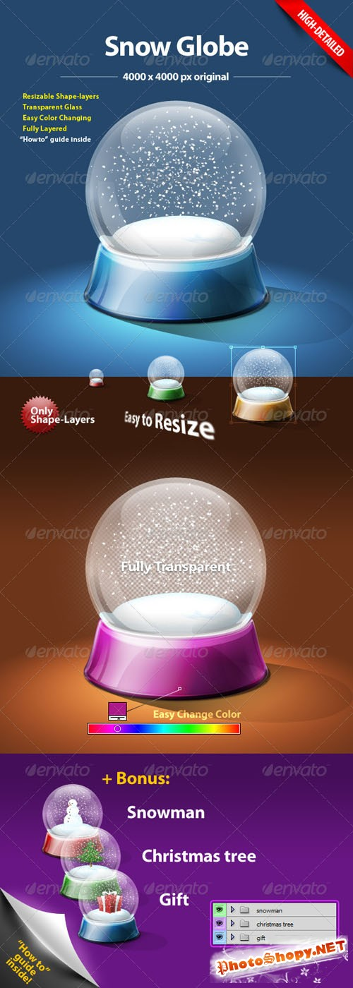 GraphicRiver - Snow Globe 144834