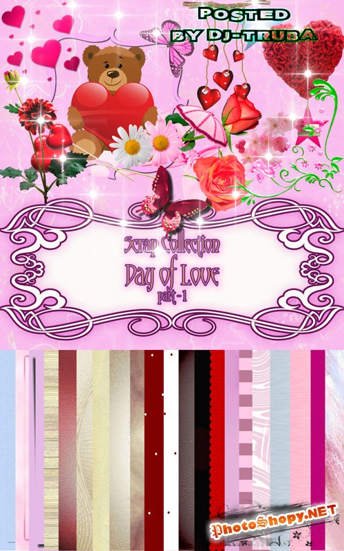 Scrap Collection - Day of Love - part 1
