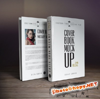Cover Book Mock-up Vol.2