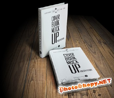 Cover Book Mock-up Presentation vol.1