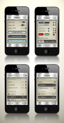 Chromo iPhone UI Pack Vol.1