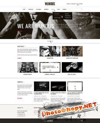 Mundus Agency Web Template