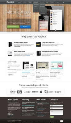 Applica App Web Template