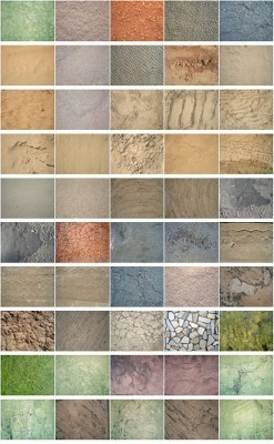 50 Ground and Soil Textures Set 1