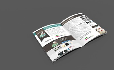 Magazine Mock-Up Template